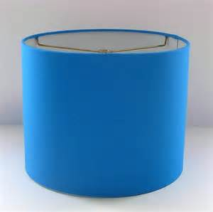 items similar to blue lshade blue drum shade table l