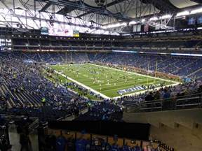 Detroit Lions Ford Field Ford Field Detroit Lions Stadium Journey