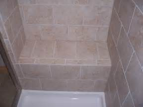 built in seat in shower general home improvement ideas