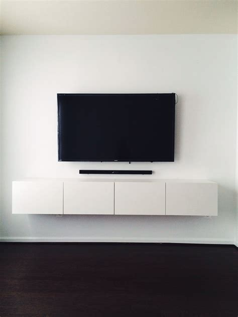 how to mount ikea besta to wall ikea best 197 media console mounted tv with hidden wires