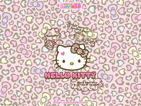 imagenes de hello kitty animal print ภาพพ นหล งhello kitty