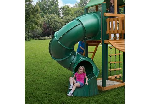 swing set tube slide extreme tube slide swing set accessories and parts