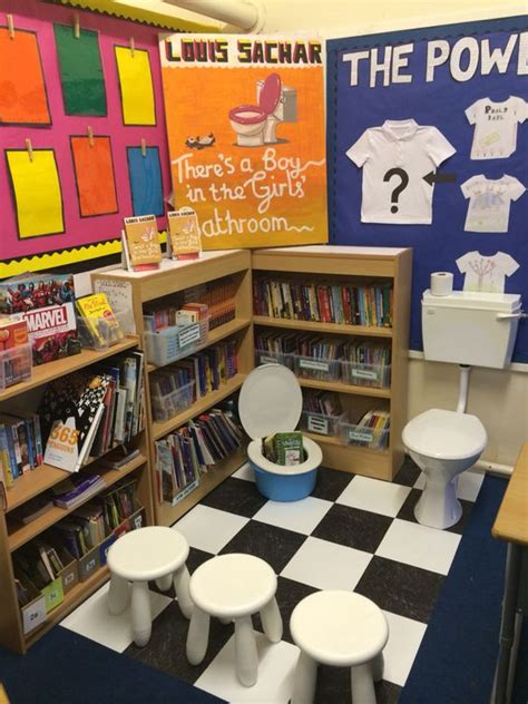 classroom themes ks2 louis sachar year 6 and book corners on pinterest
