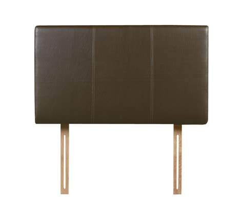 faux leather headboards vienna brown faux leather headboard