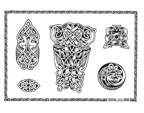 celtic tattoo designs money bag design dollar addicted