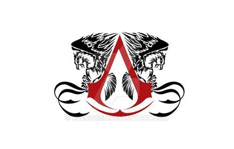 Simple Assassins Creed Tattoo Design By Vesferatu Assassins Creed Designs