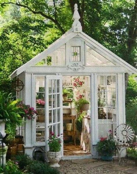 backyard glass house beautiful glass greenhouse decor ideas pinterest