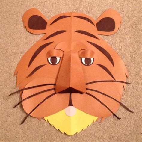 How To Make A Tiger Mask Out Of Paper - 80 best images about tigers on jungle animals