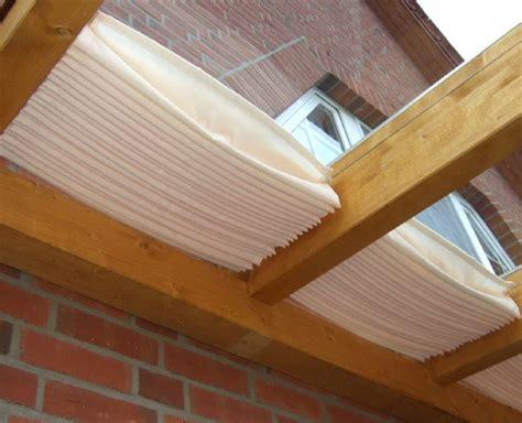 terrassenüberdachung aus holz mit glasdach glasdach sonnensegel 171 68x330 cm 187 uni wei 223 faltsonnensegel