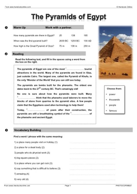 reading comprehension test intermediate intermediate level esl efl worksheets activities and