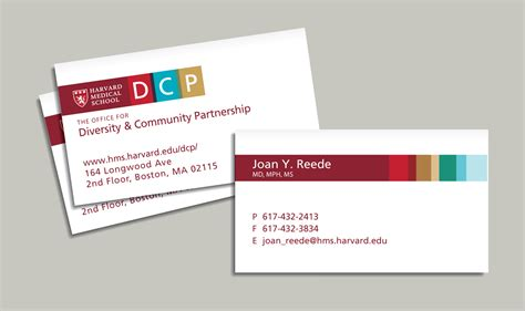 department of community supervision business card template harvard faculty business cards choice image card design