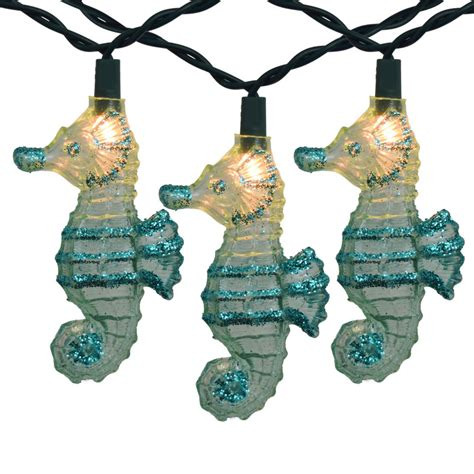 seahorse tropical string light set