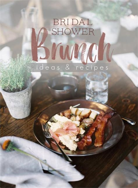 bridal shower brunch food recipes bridal shower brunch ideas and recipes 2203996 weddbook