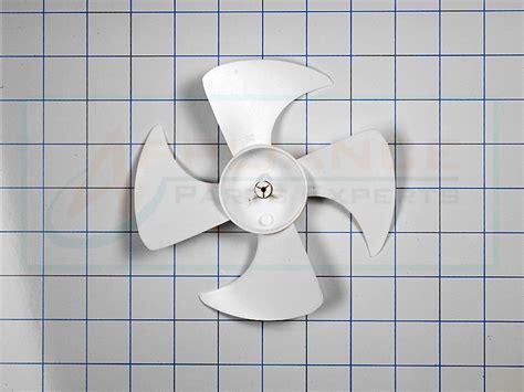 refrigerator condenser fan blade refrigerator condenser fan blade wr60x10030 ap2071888