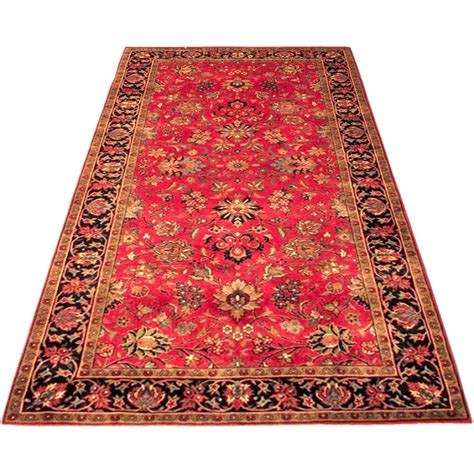 4 X 7 Rugs by Size 4 2 X 7 8 And Navy Kashmar Wool Rug From India