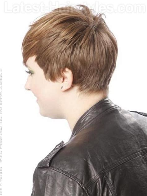 fringe clipped back hairstyles elaines hair fringed crop messy easy straight style