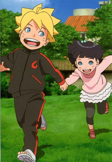 N Anime Boruto by Boruto Himawari Look How Kawaii They Both Are Tv N