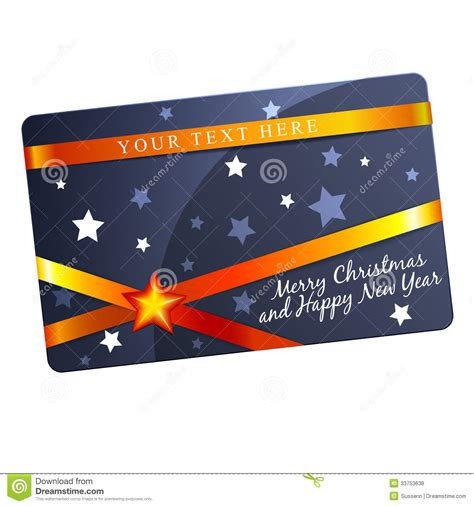 gift card flyer template gift card template stock vector image 33753638