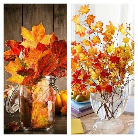 vitrine en verre 1242 hojas de arboles secas para adornos de oto 241 o 50 ideas