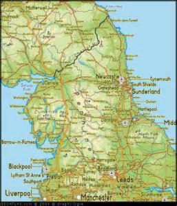 Map Of Northern England by North England Regions Map United Kingdom Map Regional