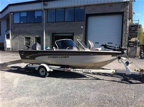 used outboard motors kingston ontario for sale used 2000 crestliner super hawk 1700 in kingston