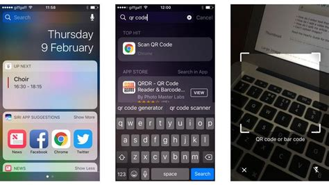 iphone qr code how to scan qr codes on iphone with wallet chrome or free apps macworld uk