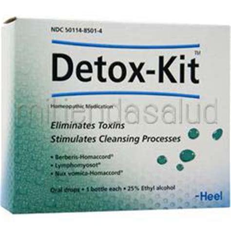 Detox Heel by Detox Kit 3 Bttls Heel