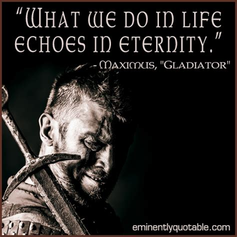 what we do in life echoes in eternity tattoo what we do in echoes in eternity 248 eminently