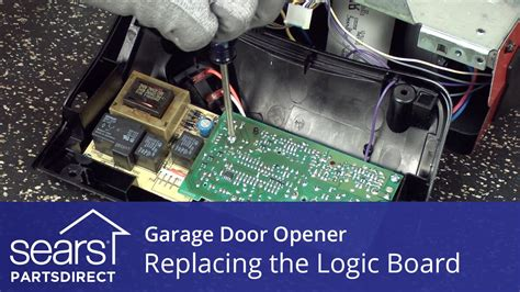 Lost Garage Door Opener How To Replace Replacing The Logic Board On A Garage Door Opener