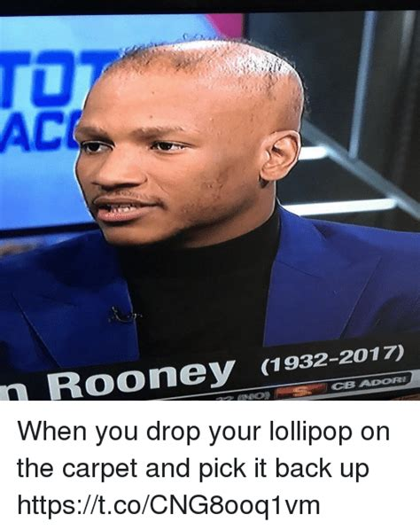 Where You Drop A Lollipop On The Carpet Hair - ro ac rooney 1932 2017 cb adore when you drop your
