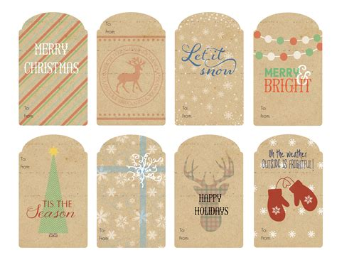 Gift Tags - vintage gift tags 2014 wallquotes