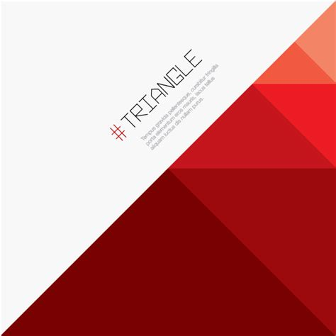 triangle background vector download red triangle background vector image 123freevectors