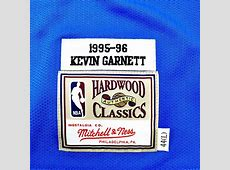 Mitchell and Ness authentic jersey HWC Minnesota ... Kevin Garnett Shoes Timberwolves