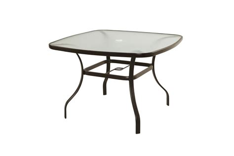 42 Inch Dining Table Thd Generic Maple Valley 42 Inch X 42 Inch Steel Square Dining Table The Home Depot Canada