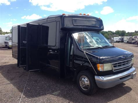 Ford E450 by 2002 Ford E 450 Duty V 10 Limo Shuttle