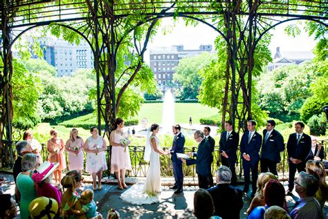 Bridal Garden Nyc by Conservatory Garden Wedding In Central Park L R