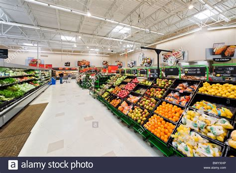 walmart food section produce section in a walmart supercenter haines city