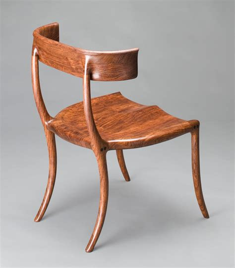 Handmade Chair - custom chair klismos chair handmade walnut by morrison