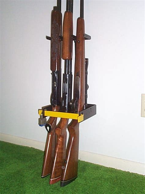 Closet Gun Rack by Storing Without A Safe