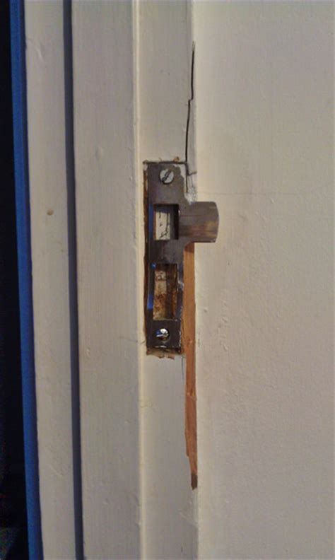 front door frame repair how do i repair a broken wooden door jamb home