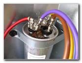 how to discharge furnace capacitor carrier a c tries to kick on fan not running diy home improvement remodeling repair forum