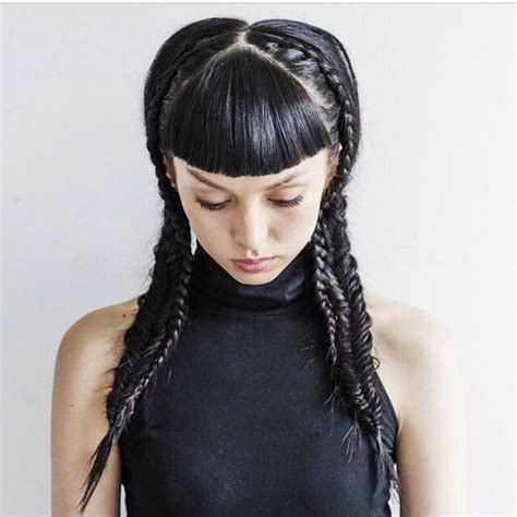 ss15 hair trend plaits missguided makeup hair nails
