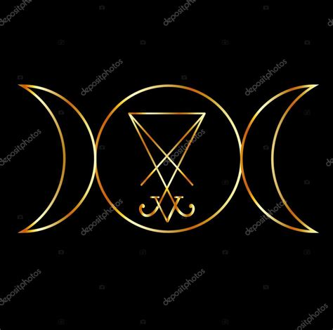 imagenes simbolos wicca s 237 mbolo wicca la diosa triple con sigil de lucifer