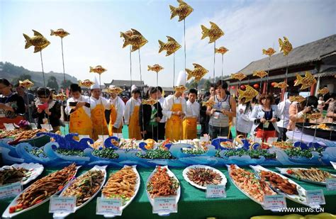 Cooking Giveaway - fish cooking contest held in e china county the people s government of jiangxi province
