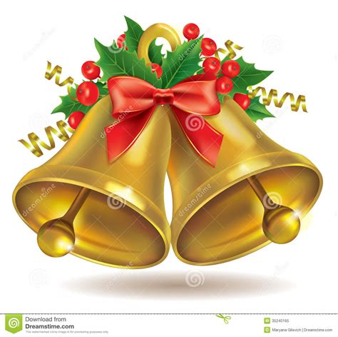 Bow Windows Prices christmas bells royalty free stock photo image 35240165