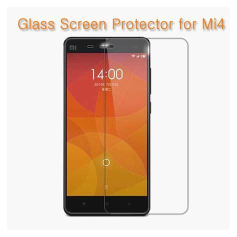 premium tempered glass screen protector screen guard for xiaomi mi4
