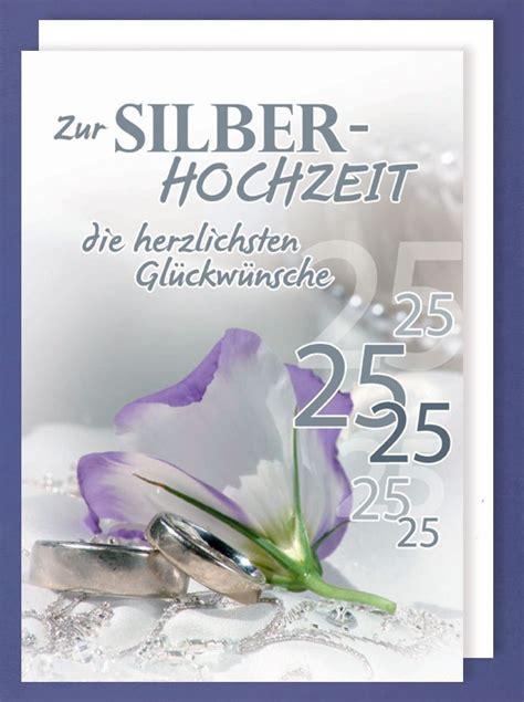 Karten Zur Silberhochzeit by Riesen Gru 223 Karte Silberhochzeit 25 Avanstyle Maxi