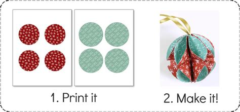printable paper ornaments simple homemade christmas ornaments