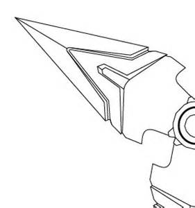 overwatch genji shuriken blueprint digital file