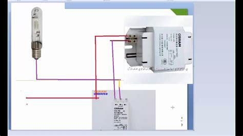 sodium lights wiring diagram halogen light wiring diagram
